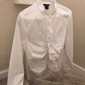 Long sleeve women's dress shirt